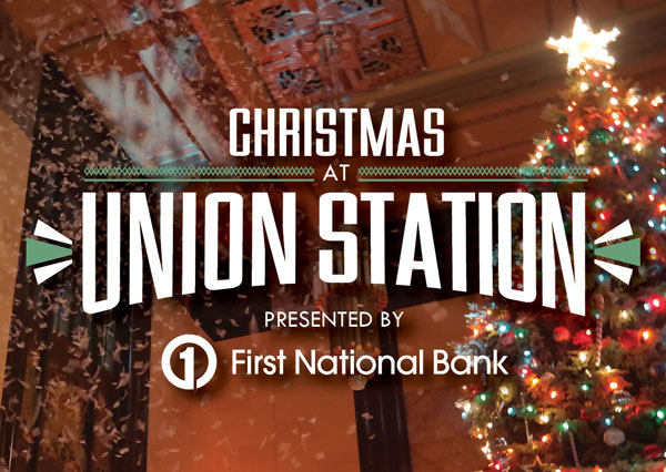tree lighting a union station