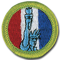 American Heritage Badge