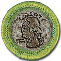 Coin Collecting Badge