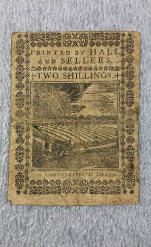 Currency 1773