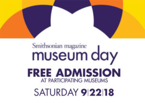 Museum Day Live September 22, 2018