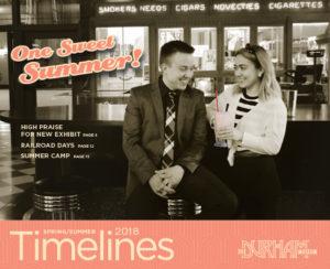 Timelines Newsletter - Summer 2018