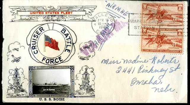 World War II Envelope