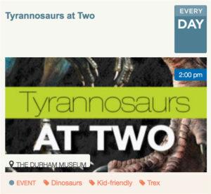 Tyrannosaurs at Two