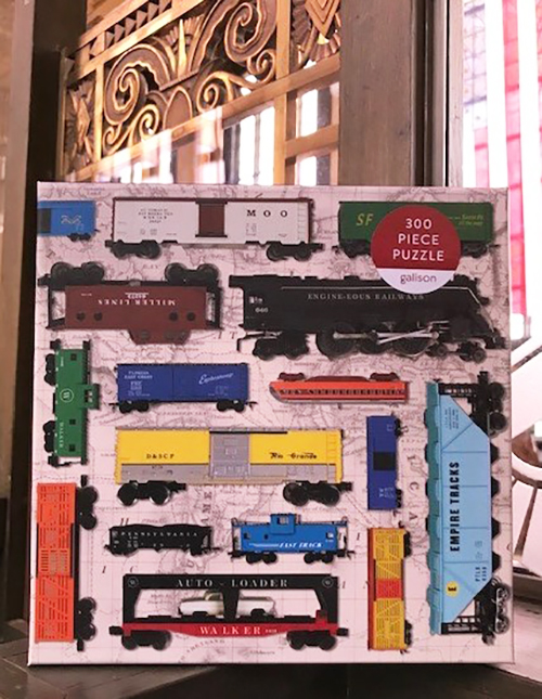 Toy Train Puzzle