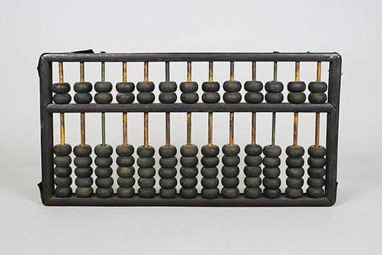Object Donation: Abacus used in the Manderin Cafe and King Fong Cafe
