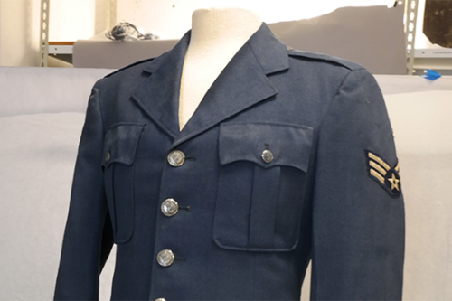 Object Donation: Korean War Airman's Jacket
