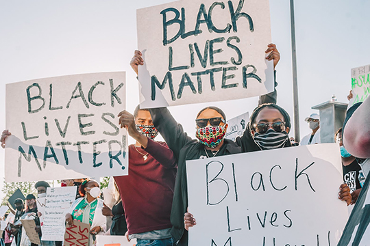 Object Donation: Black Lives Matter photograph